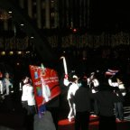Protests aside, Olympic Flame arrives in Toronto