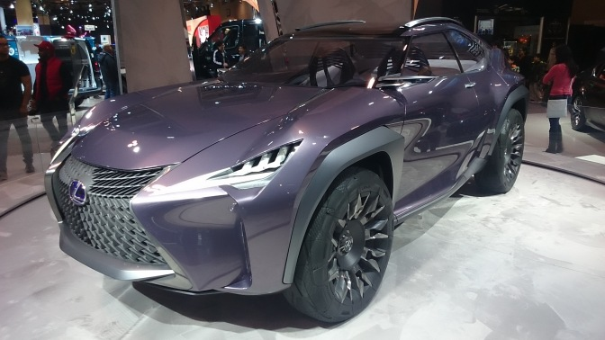 2018 Lexus UX Concept