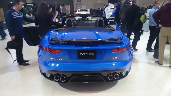 2018 Jaguar F-Type Convertable