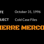 Where is Pierre Mercon?